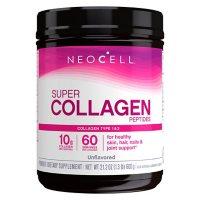 NeoCell Super Collagen Peptides, Unflavored Powder, Collagen Type 1 & 3 (600 g)