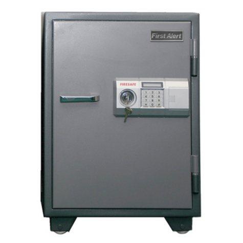 First Alert - 2575DF 2-Hour Steel Fire Safe with Digital Lock, 2.7 Cubic Feet. Gray