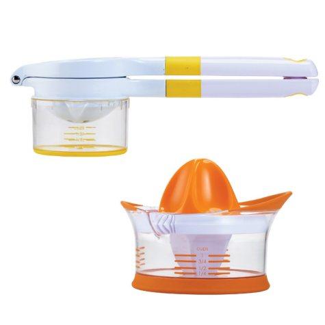 Crisp Citrus Squeezer and Juicer, 2-Piece Set