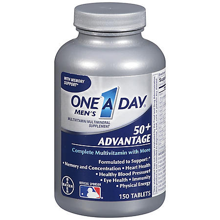 One A Day® 50+ Vitamins