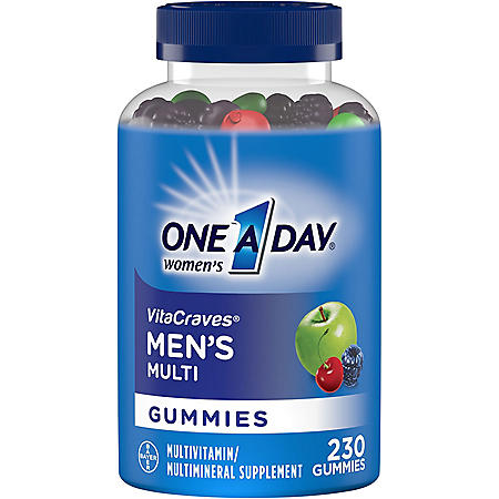 One A Day Men's VitaCraves Gummies (230 ct.)