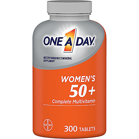 One A Day Women's 50+ Multivitamin (300 tablets)