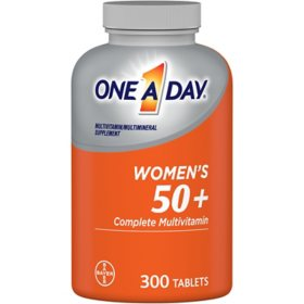 One A Day Women's 50+ Multivitamin (300 ct.)