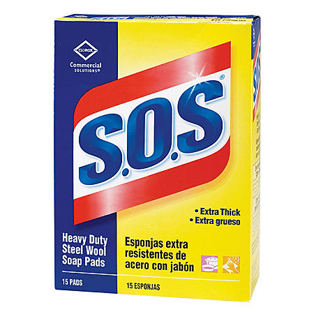 S.O.S. Steel Wool Soap Pads (180 ct.)