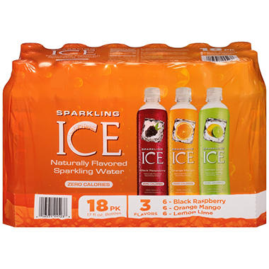 Sparkling ICE Sparkling Water, Variety Pack (17 oz. bottles, 18 pk.)