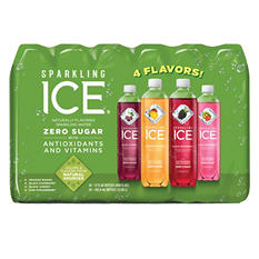 Sparkling Ice Fruit Blasters Variety Pack (17 oz., 24 pk.)