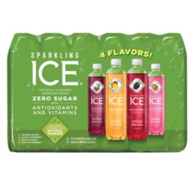 Sparkling Ice Fruit Blasters, Variety Pack (17oz / 24pk)