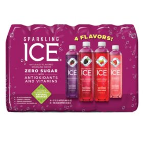 Sparkling Ice Very Berry, Variety Pack (17 fl. oz. bottle, 24 ct.)