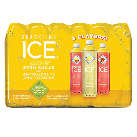 Sparkling Ice Citrus Celebration Variety Pack (17oz / 24pk)