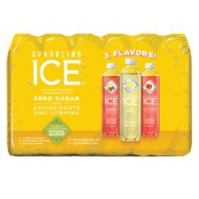 Sparkling Ice Citrus Celebration Variety Pack (17 oz., 24 pk.)