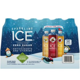 Sparkling Ice Holiday Celebration Variety Pack (17oz / 24pk)