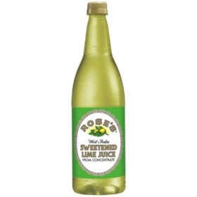Rose's Sweetened Lime Juice (1 L)