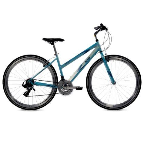 Jeep Compass Hybrid Bike - Women's - Sky Blue