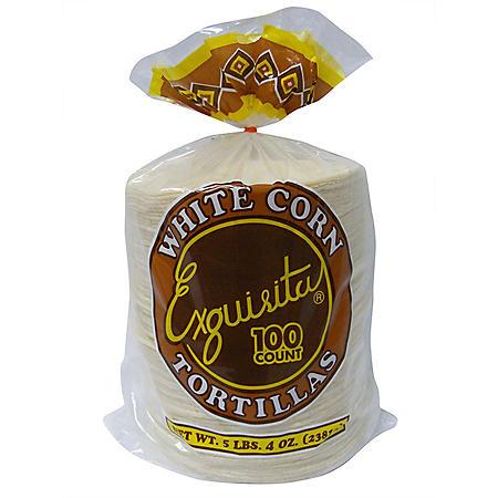 Exquisita White Corn Tortillas (84oz)