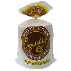 Exquisita White Corn Tortillas (100 ct.)