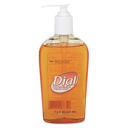 Liquid Dial® Gold Antimicrobial Soap - 7.5 oz
