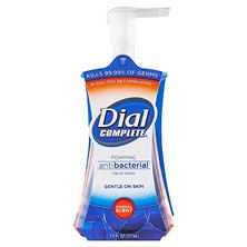 Dial Complete - Antimicrobial Foaming Hand Soap, Original Scent, 7.5oz Pump Bottle -  8/Carton