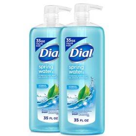Dial Antibacterial Body Wash, Spring Water (35 fl. oz., 2 pk.)