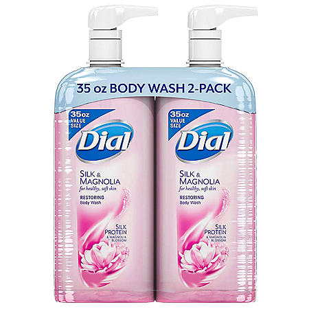 Dial Restoring Body Wash, Silk & Magnolia (35 fl. oz.)