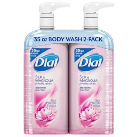 Dial Restoring Body Wash, Silk & Magnolia (35 fl. oz.)