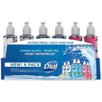 Deals on 4-Pack Dial Antibacterial Liquid Hand Soap, Variety Pack 9.375 oz