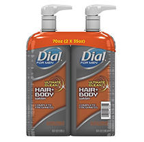 Dial for Men Ultimate Clean Hair + Body Wash, Ultimate Clean (35 fl. oz, 2 pk.)