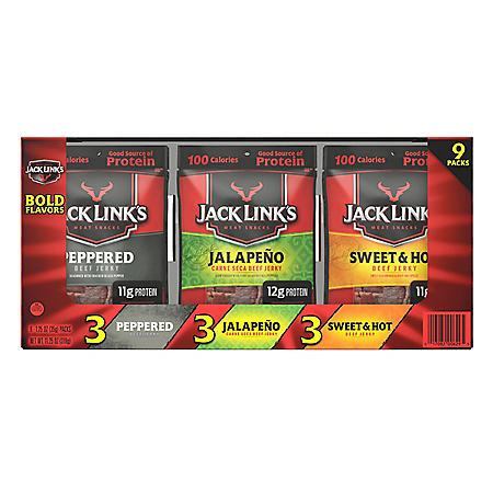 Jack Link's Bold Variety Pack (9 ct.)