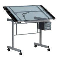 Vision Mobile Drafting Table with Supply Storage