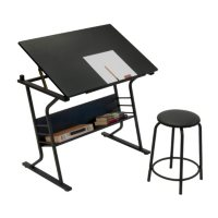 Deals on Studio Designs Eclipse Table with Stool