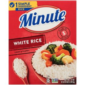 Minute White Rice, Instant White Rice (72 oz.)