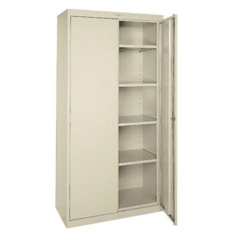 """Storage Cabinet - Standard 78"""" - Putty"""