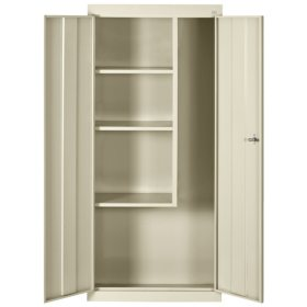 """66""""H x 30""""W x 15""""D Steel Freestanding Combination Storage Cabinet (Assorted Colors)"""