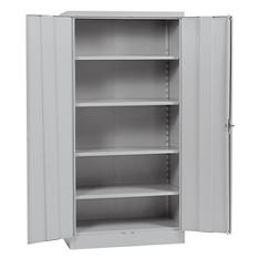 "Sandusky Quick Assembly Steel Storage Cabinet - Grey (36""W x 18""D x 72""H)"