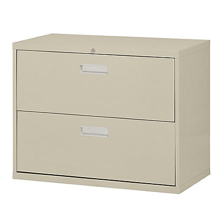 """600 Series 36""""W 2-Drawer Lateral File Cabinet (Assorted Colors)"""