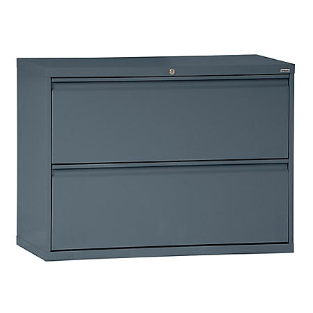 "800 Series 36""W 2-Drawer Full Pull Lateral File Cabinet (Assorted Colors)"