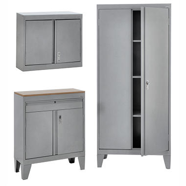 Sandusky 3-in-1 Storage Cabinet Set - Sam's Club