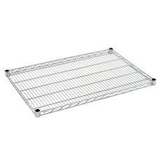 Sandusky 36 in. W x 24 in. D Steel Wire Shelf in Chrome