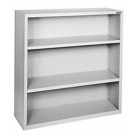 3-Shelf Elite Series Welded Bookcase (Assorted Colors)
