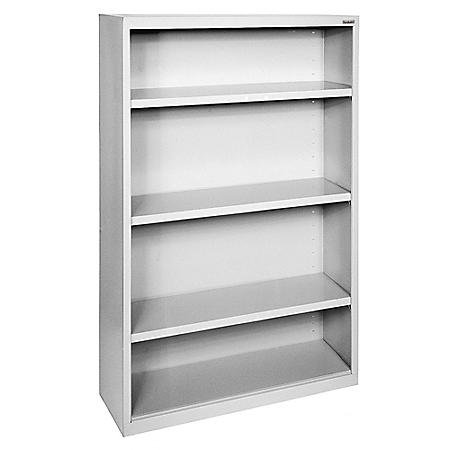 4-Shelf Elite Series Welded Bookcase (Assorted Colors)