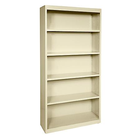 5-Shelf Elite Series Welded Bookcase (Assorted Colors)