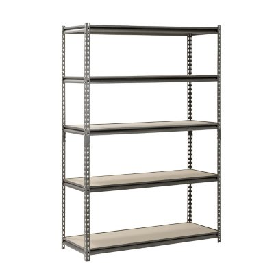 Muscle Rack 5-Level Heavy Duty-Steel Shelving (48