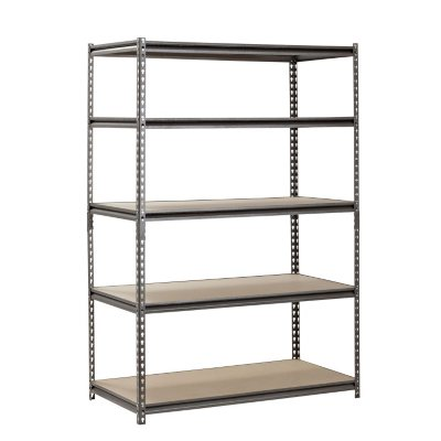 Muscle Rack 5-Shelf Steel Shelving Unit Chose Your Desired Size