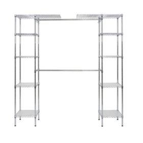 Muscle Rack Expandable Closet/Room Organizer (Chrome)