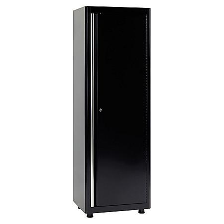 "American Heritage 72""H x 24""W x 18""D Welded Steel Floor Cabinet (Black)"