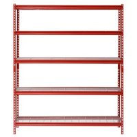 Deals on Muscle Rack 5-Shelf Steel Shelving Unit