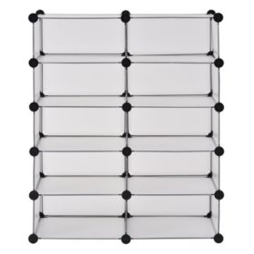 Muscle Rack Modular Cube Storage (Clear)