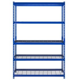 "Muscle Rack 5-Shelf Steel Shelving Unit (48""Wx18""Dx72""H)"