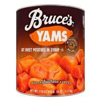 Bruce's Cut Yams, 112 oz, Can
