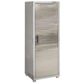 "Seville Classics UltraHD 1-Door Lockable Storage Cabinet (24"" W x 18"" D x 66"" H)"