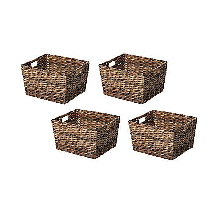 Member's Mark Decorative Woven Storage Baskets (Set of 4)